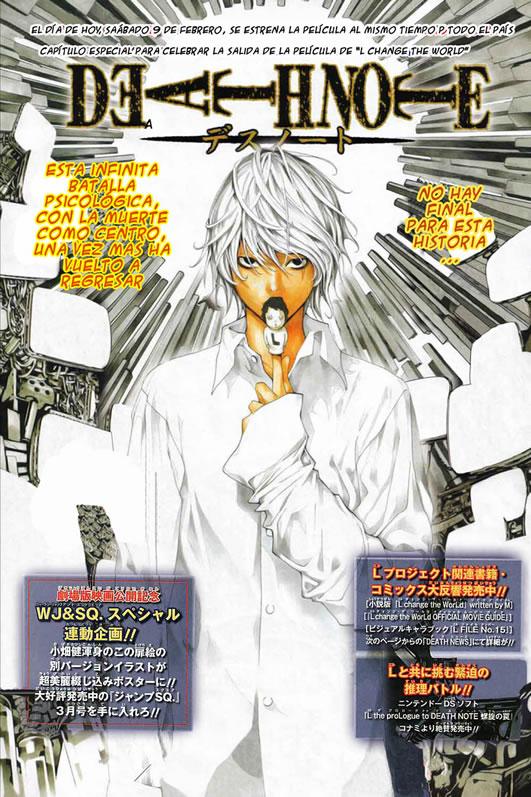 Death Note Near L. Death
